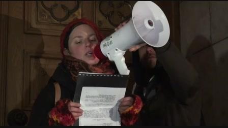 Tüntetés Horváth Andrásért