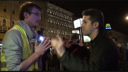 Hoffmann Rózsa miatt tüntettek a diákok