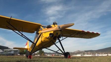 Felújították Rubik repülőgépét - Kánya R-18c