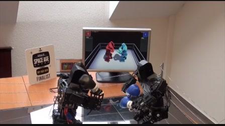 Sikító Rocky a legmenőbb magyar robot